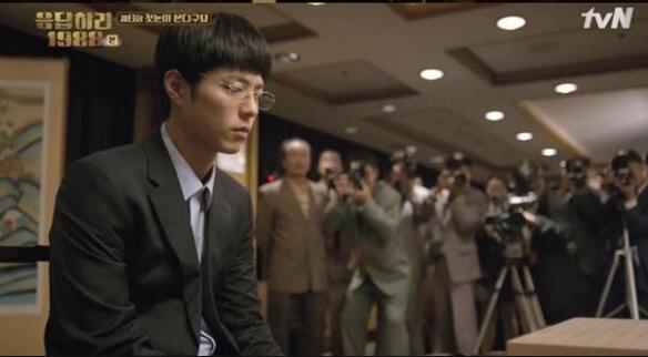 최택 역을 맡고 있는 박보검. 사진 tvN 캡처