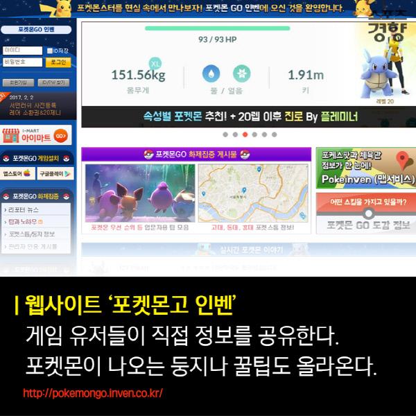 [카드뉴스] '포켓몬고' 초보에서 중수로 가는 꿀팁 ② 유용한 사이트·앱·아이템