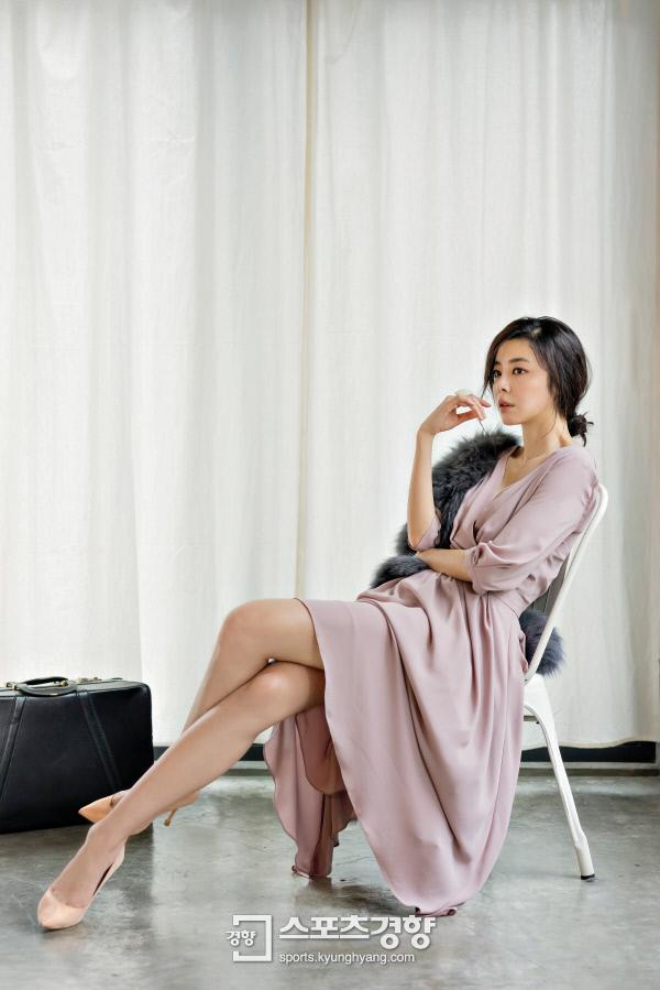 배우 김규리. 경향신문 자료사진