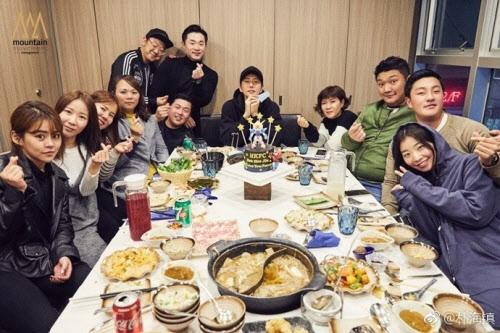 사진 배우 박해진 웨이보 갈무리
