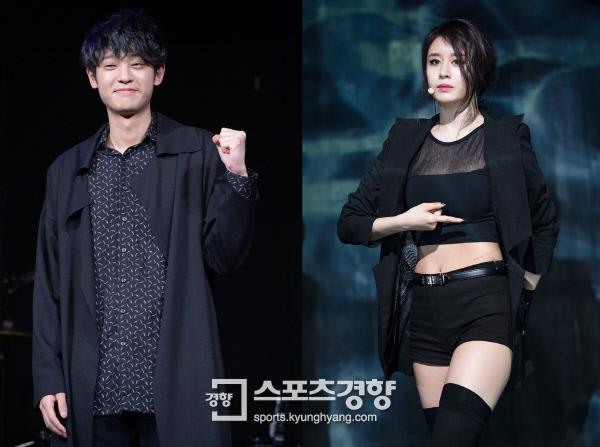 열애설에 휩싸인 정준영과 지연, 사진 경향DB