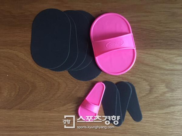 제품은 와이드 와이드 패드 1개, 미니 패드1개, 와이드 시트 5장, 미니 시트 5장으로 구성 되어있다.