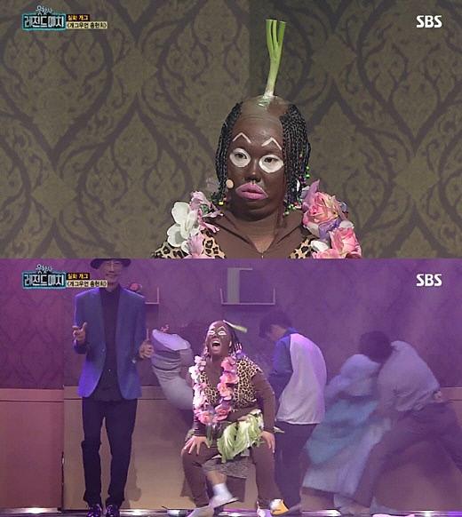 지난 19일 방송된 예능 프로그램 <웃찾사-레전드 매치> 화면 갈무리. SBS