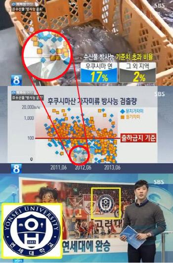 2013년 SBS 전파를 탄 '일베' 관련 이미지. /온라인 커뮤니티