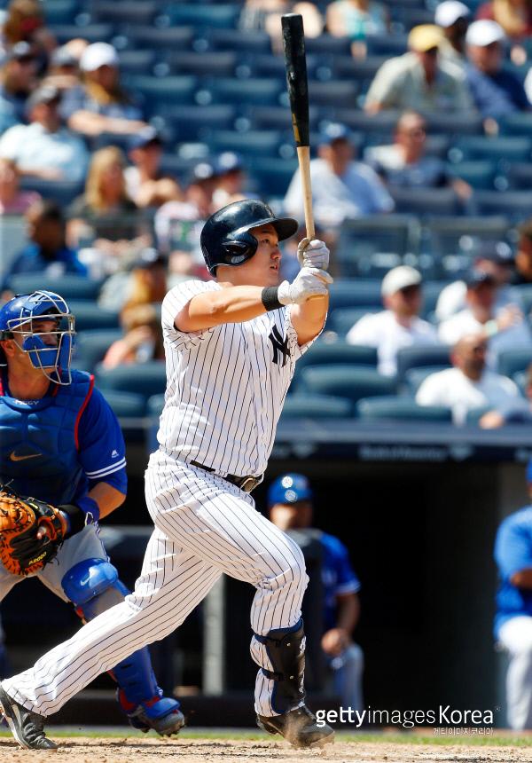 최지만 양키스 데뷔전에서 139m 2점 홈런 쾅 스포츠경향 뉴스배달부