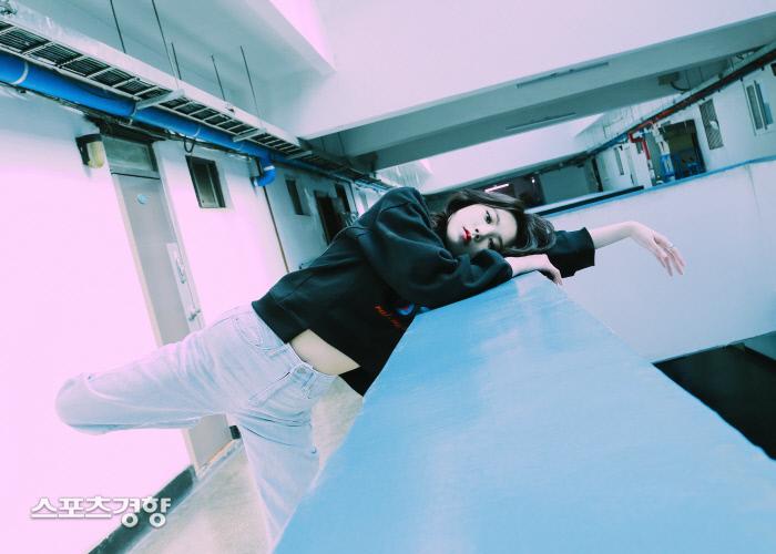 배우 박수아 서울 을지로 화보 B컷. 사진 bnt