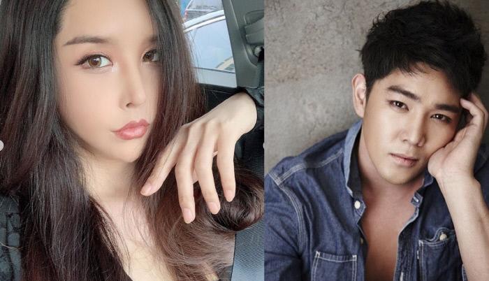 (왼쪽부터) 방송인 하리수와 가수 강인. 하리수 SNS 캡처