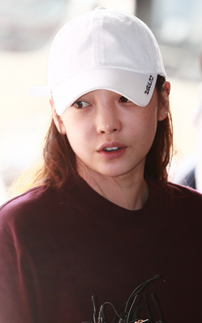 걸그룹 카라 출신 구하라. 이선명 기자 57km@kyunghyang.com