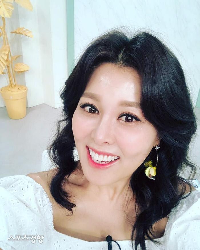 배우 홍지민. 사진 홍지민 SNS