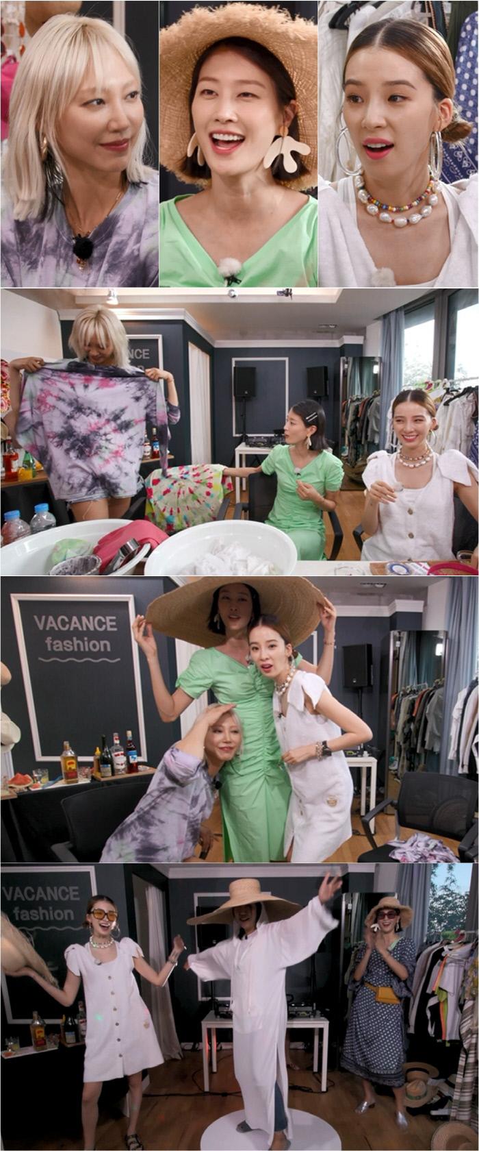 [채널예약] '마리텔 V2' 수주·이현이·아이린, '바캉스 패션 잇 아이템'