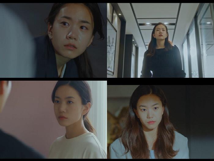 순수했던 김이경(이설 분)이 영혼 계약으로 냉정하고 시크한 냉담녀로 변해 눈길을 끄는 '악마가 너의 이름을 부를 때'. tvN 제공