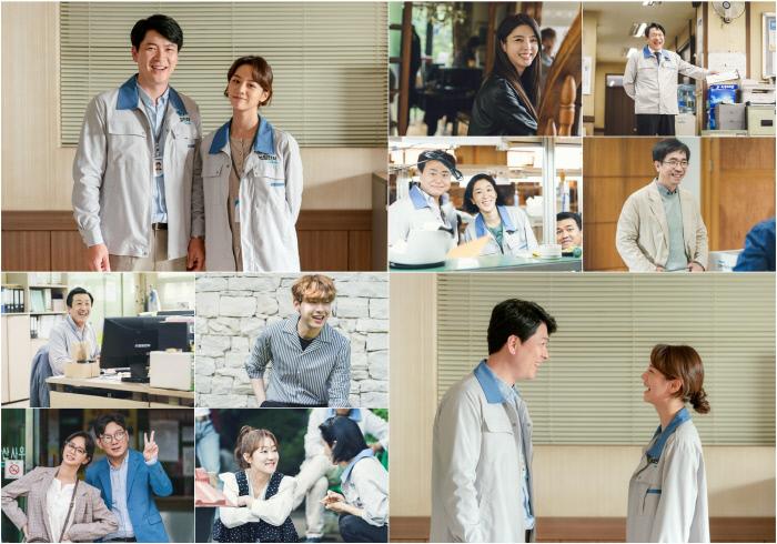 추석맞이 청일전자 패밀리 웃음꽃 비하인드 '청일전자 미쓰리'. tvN 제공