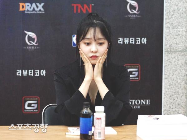 [스경포토] '2019 머슬마니아' 최설화, 귀엽게 '뿌잉뿌잉'
