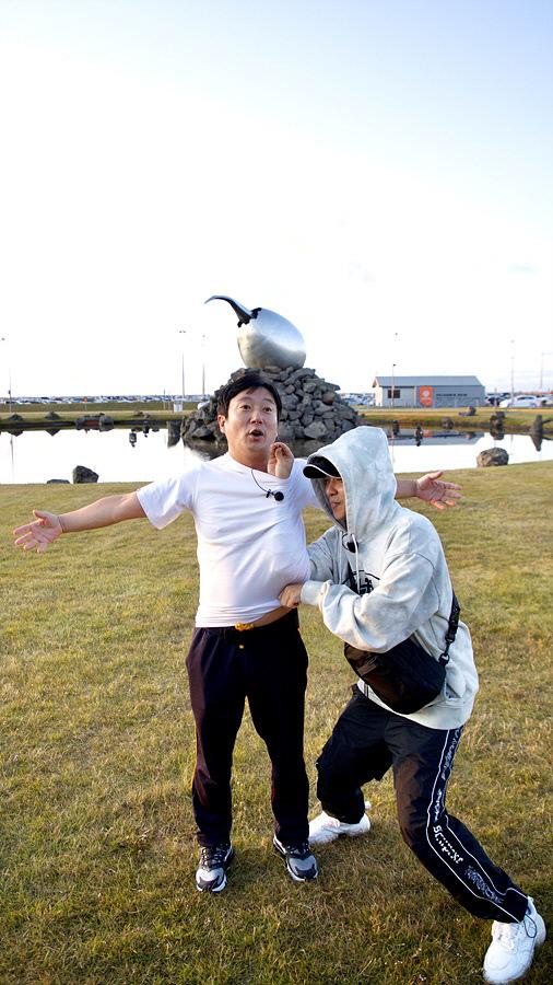 아이슬란드에 도착한 이수근,  은지원의 본격적인 여행 시작 '신서유기 외전: 삼시세끼-아이슬란드 간 세끼'. tvN 제공