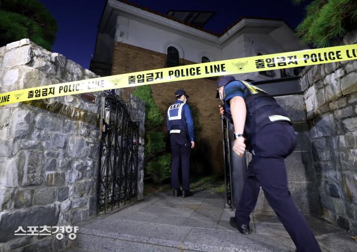 설리가 사망한 장소인 경기도 성남시 수정구의 한 전원주택. 연합뉴스