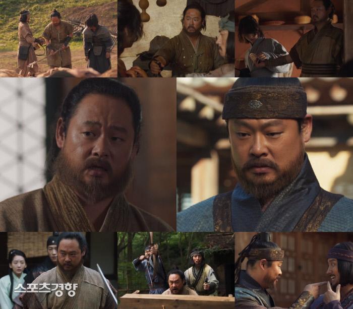 JTBC 금토극 '나의 나라'에 출연 중인 배우 이유준의 연기장면. 사진 JTBC 방송화면 캡쳐