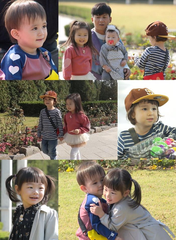 윌리엄×라원, 벤틀리×잼잼 동갑 친구들의 찰떡 케미(feat.라임) '슈퍼맨이 돌아왔다'. KBS 2TV 제공