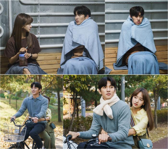 냉동 남녀의 달라진 달달한 데이트 현장 '날 녹여주오'. tvN 제공
