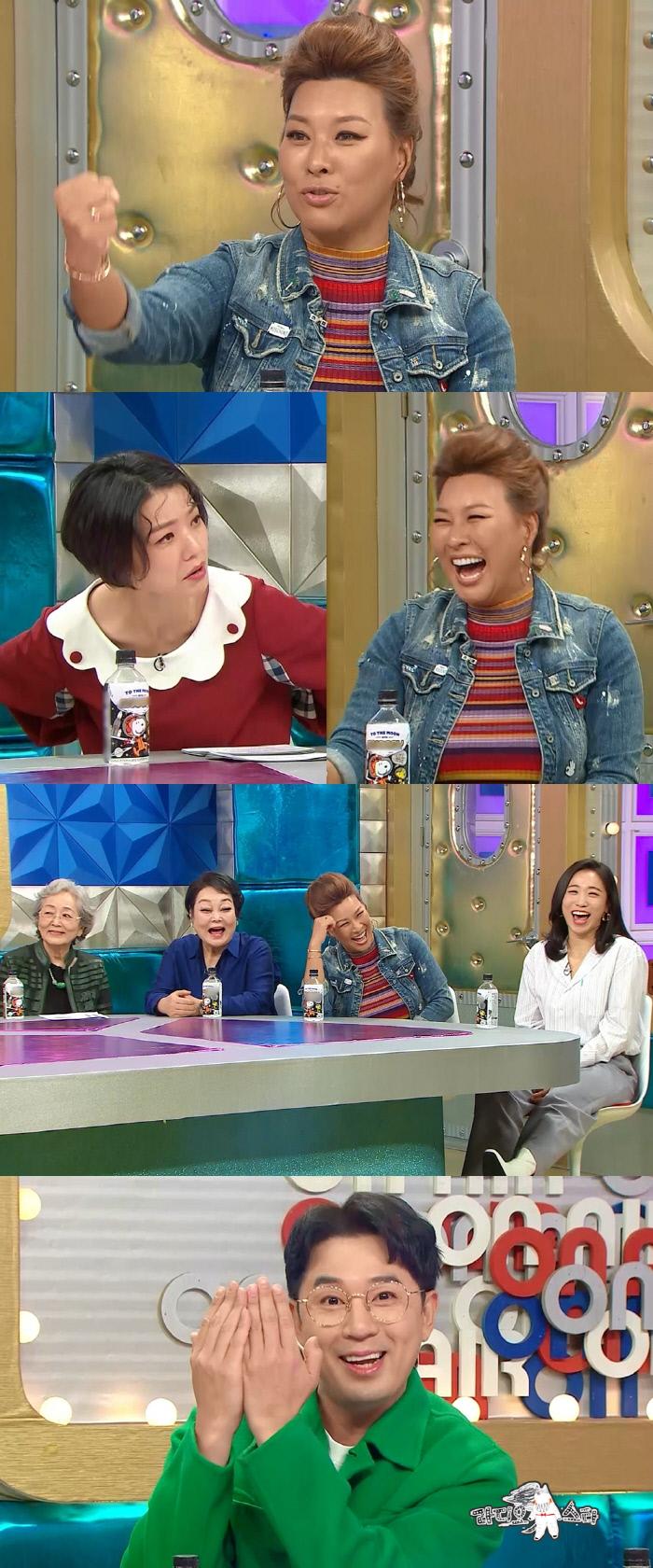 '줌 크러시' 특집에 출연한 정영주가 후배 장기용과 첫 만남에 독설을 한 이유는? '라디오스타'. MBC 제공