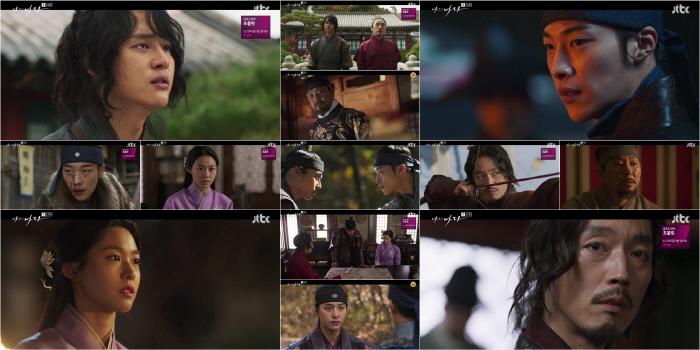 한 치 앞도 예측할 수 없는 가운데 종영까지 2회 만을 남겨둔 최종장 관전 포인트 '나의 나라'. JTBC 제공