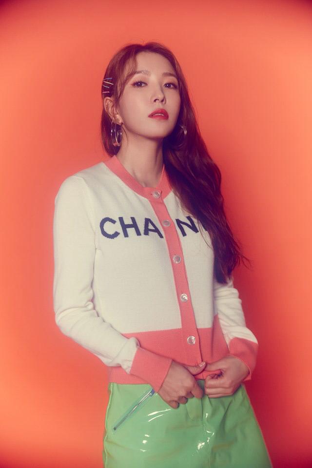 가수 보아. 사진 보아 공식 SNS