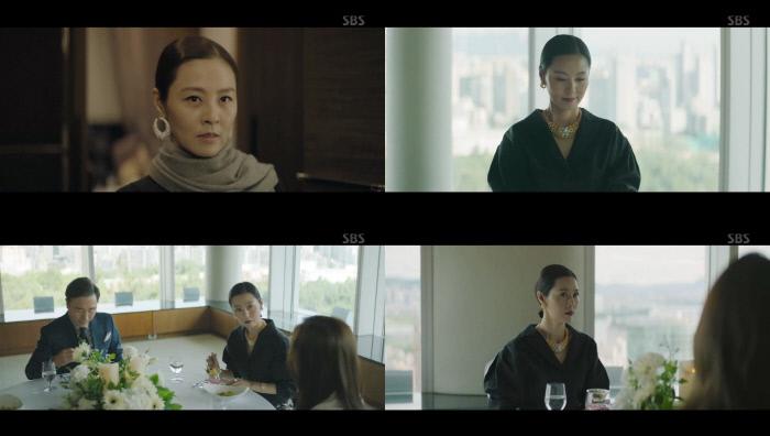 [간밤TV]'VIP' 전혜진, 장나라 폭로에 표예진 향해 의미심장한 미소