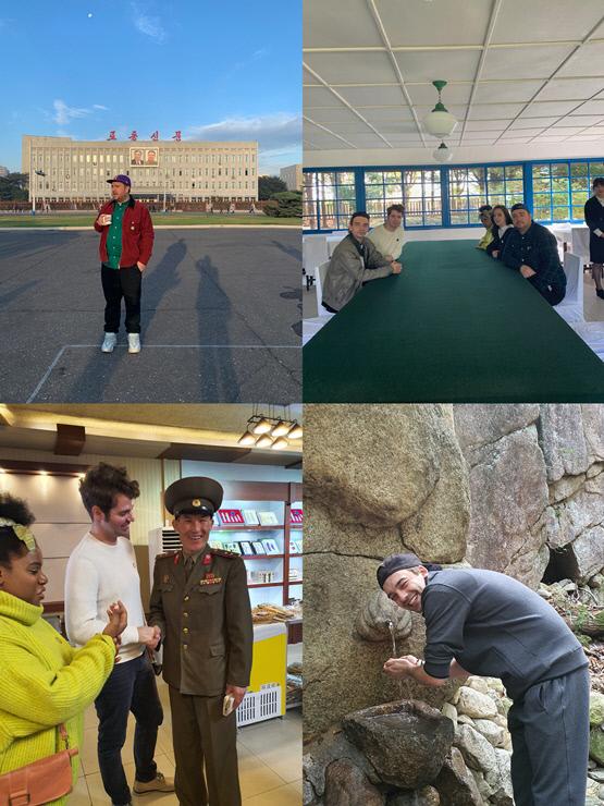 샘 해밍턴 등 외국인 5명의 5박 6일 북한 방문을 담은 다큐멘터리 '샘 해밍턴의 페이스北'. SBS 제공