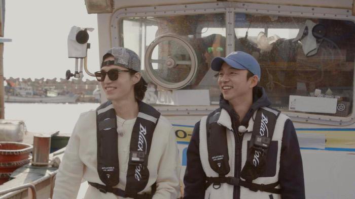 '이동욱은 토코가 하고 싶어서'  낚시 장면.