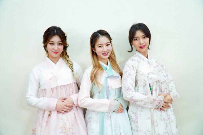 걸그룹 써드아이. 사진 GH엔터테인먼트