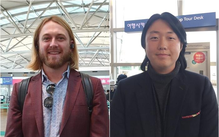 키움 테일러 모터(왼쪽), NC 배재환.  연합뉴스