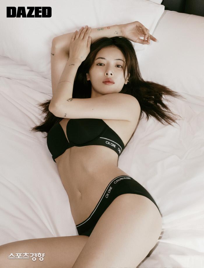 가수 현아 언더웨어 화보. 사진 데이즈드