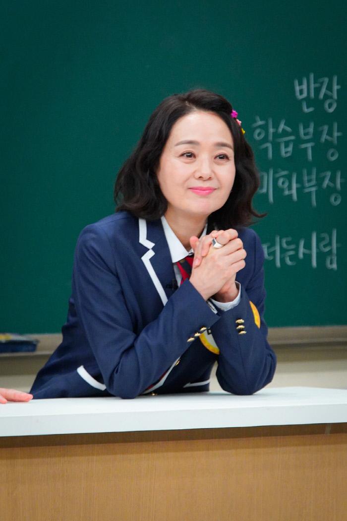 '아는 형님' 배종옥. 사진제공 JTBC