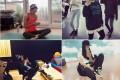바캉스 시즌에 딱! 女스타들의 매끈·탄탄 쿨 레깅스 패션