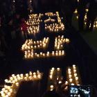 [11·26 촛불집회] 촛불로 쓴 '한일군사협정 반대'