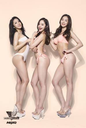 """최설화,공민서,손소희""""우린 벌써 여름""""…미공개 아찔 비키니 화보"""